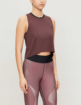ULTRACOR Scoop-neck sports-jersey tank top