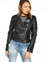 Very Ultimate Leather Biker Jacket