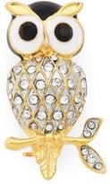 Cara Owl Brooch