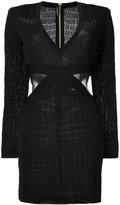 Balmain cut out dress