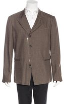 John Varvatos Linen Notch-Lapel Blazer w/ Tags