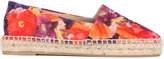 Paul Smith floral espadrilles - women - Cotton/Leather/Straw/rubber - 36