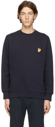 Paul Smith Navy and Orange Angel Monkey Sweatshirt