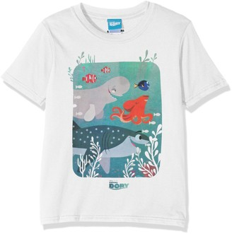 Disney Finding Dory Girls Dory & The Gang T-Shirt