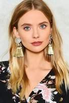 Nasty Gal Monarch Status Tassel Earrings