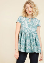 Rest and Reflection Peplum Top in 12 (UK)