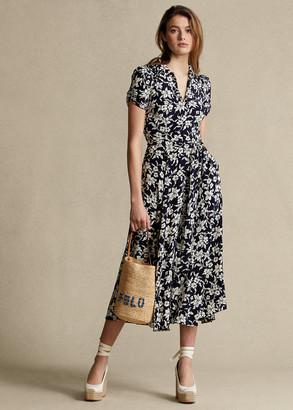 Ralph Lauren Floral A-Line Dress