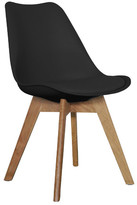 Oak & Black Kent Dining Chair