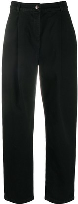 Magda Butrym High-Waisted Tapered Jeans
