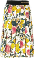 Fausto Puglisi contrast prints midi skirt - women - Viscose/Spandex/Elastane - 42
