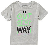 Under Armour Baby Boys 12-24 Months Out Of My Way Short-Sleeve Tee