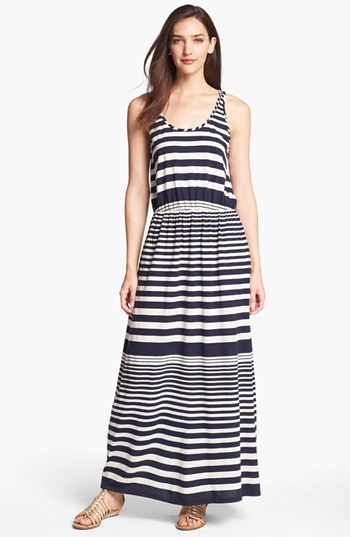 Vince Camuto Two by Stripe Maxi Dress