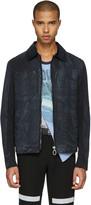Lanvin Black Waxed Cotton Jacket