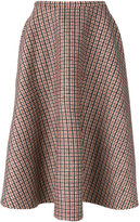 No.21 plaid full midi skirt - women - Modal/Wool/Polyester/other fibers - 40