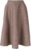 No.21 plaid full midi skirt - women - Polyamide/Polyester/Modal/other fibers - 40
