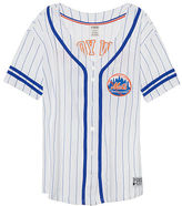 PINK New York Mets Button Down Jersey