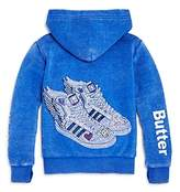 Butter Shoes Girls' Fleece Superstar Sneakers Hoodie - Little Kid