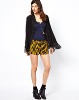 Winter Kate Printed Silk Shorts