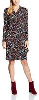 Joe Browns Women's Pure Essence Wrap Floral Long Sleeve Dress, Multicoloured