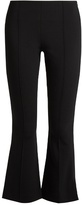 The Row Becca kick-flare cropped cady trousers