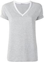 Alexander Wang striped T-shirt - women - Cotton - L