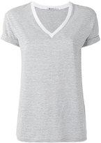 Alexander Wang striped T-shirt - women - Cotton - S