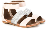 UGG woven strap sandals - kids - Leather/rubber - 34