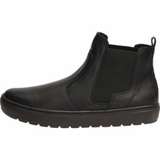 Geox Women's Breeda 26 Slip-on Ankle Warm Lined Sneaker Boot Blk