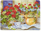 Asstd National Brand Manorcraft by Pimpernel Geranium Tea Party Set of 4 Cork-Backed Placemats