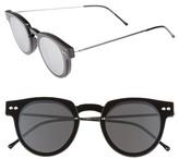 Spitfire Sharper Edge 52mm Round Sunglasses
