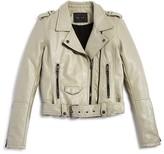 Blank NYC BLANKNYC Girls' Faux Leather Cropped Moto Jacket - Big Kid