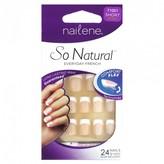 Nailene So Natural Perfect Fit Natural French 1 Kit