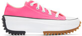 Thumbnail for your product : Converse Pink Run Star Hike Low Sneakers