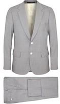 Paul Smith Mayfair Grey Wool Travel Suit