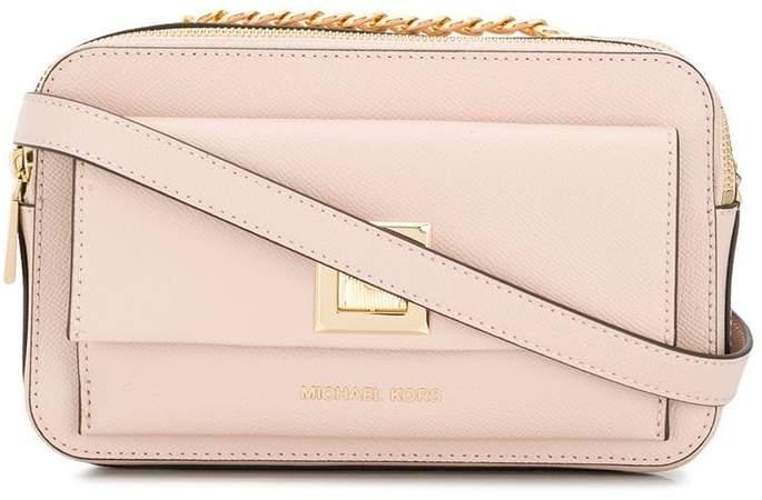 021f0558bc6a92 Michael By Michael Kors Crossbody Flap Bag - ShopStyle Australia
