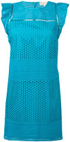 MICHAEL Michael Kors broderie sun dress - women - Cotton - S