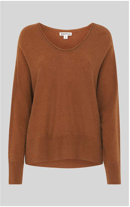 Whistles Relaxed Cashmere Sweater