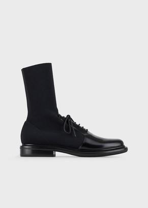Giorgio Armani Boots With Elasticated Leg