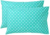Dottie Pillowcases, Set of Two, Standard, Pool