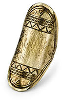 Low Luv x Erin Wasson BY ERIN WASSON Aztec Finger Ring Gold
