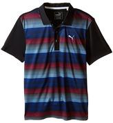 PUMA Golf Kids - Roadmap Polo JR Boy's Short Sleeve Knit