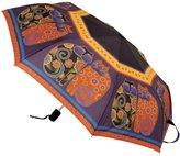 Laurel Burch Compact Umbrella 42-Inch Canopy Auto Open/Close