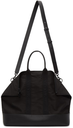 Alexander McQueen Black East West De Manta Tote