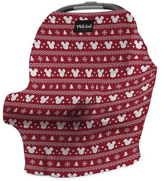 Disney Mickey Mouse Holiday Baby Seat Cover by Milk Snob