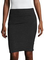 James Perse Twisted Mini Skirt