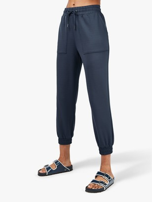 Sweaty Betty Fisherman 7/8 Joggers, Beetle Blue
