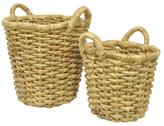 Three Hands Weave Baskets (Set of 2)