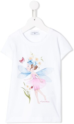 MonnaLisa graphic print T-shirt
