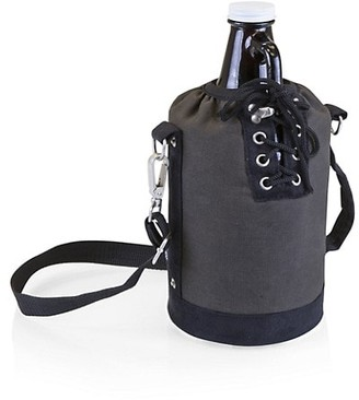 Picnic Time 2-Piece Insulated Growler Tote & Glass Growler Set