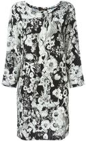 Roberto Cavalli floral print shift dress - women - Silk - 42